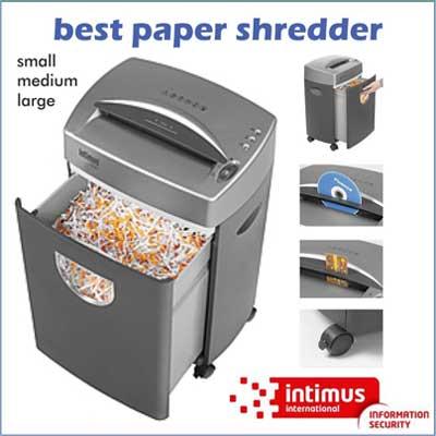 paper destroyer machine